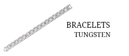Men's Bracelets - Tungsten
